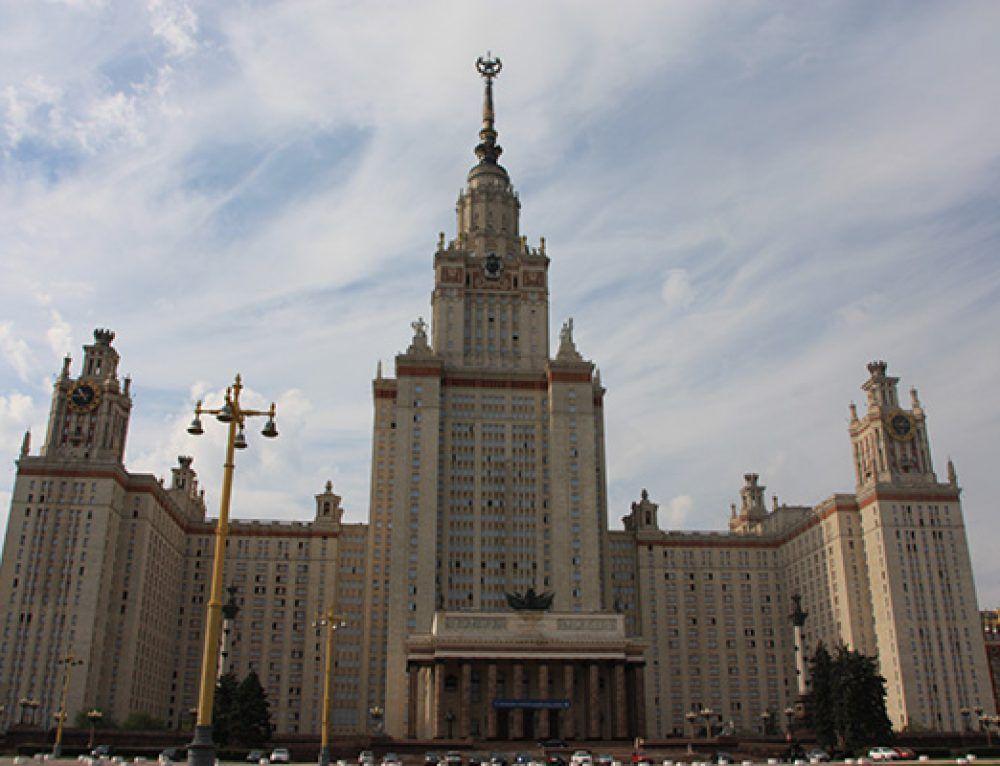"""Las """"siete hermanas"""" y el fallido Palacio de los Soviets."""
