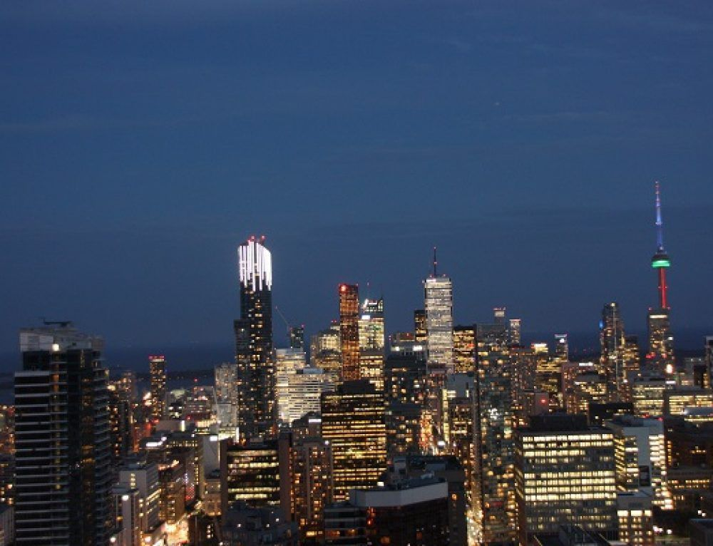 Toronto desde las alturas