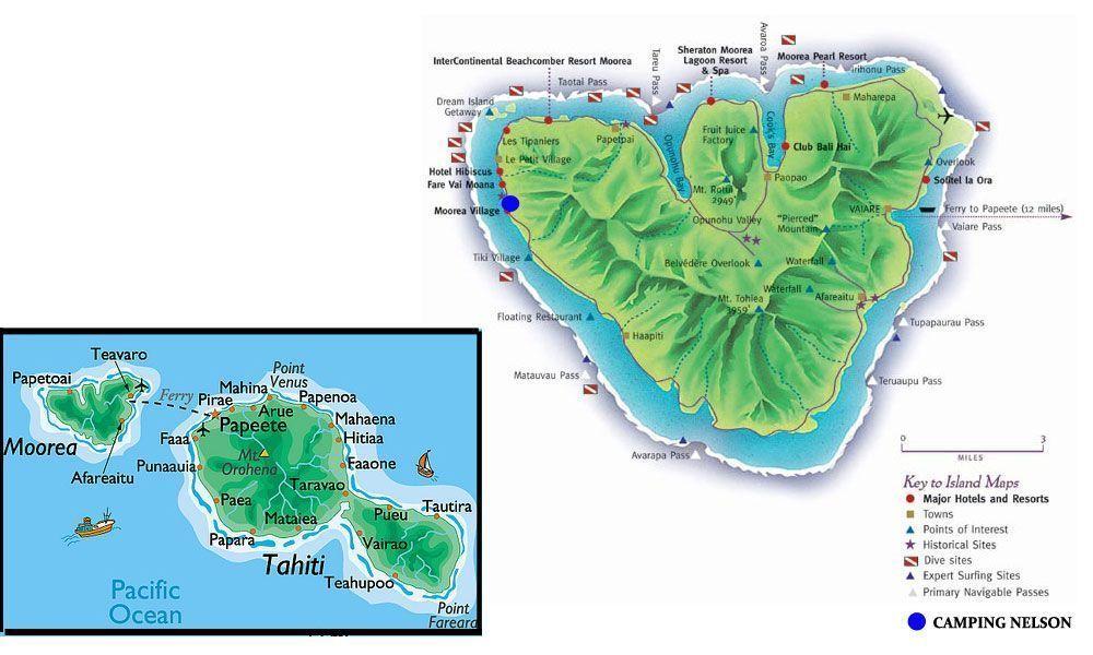 Guía de la isla de Moorea