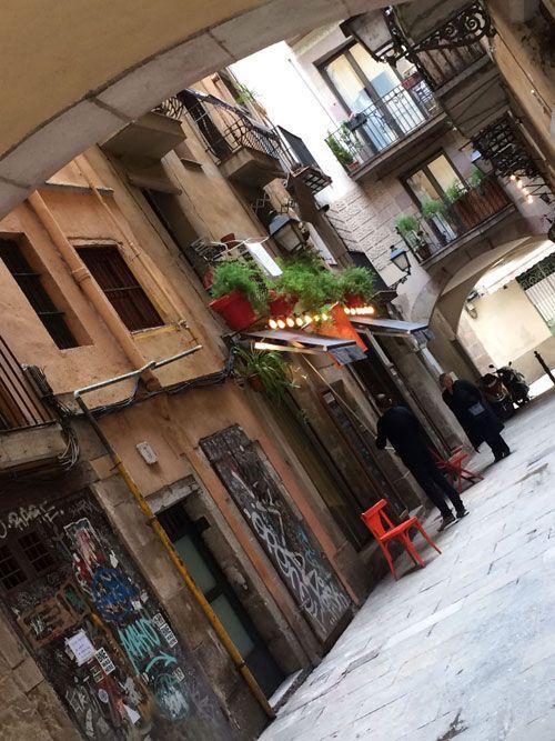 Una gincana en Barcelona