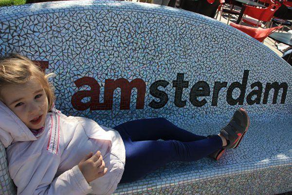 Ruta de un día por Amsterdam