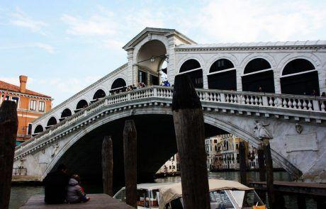 Panorámica del puente de Rialto