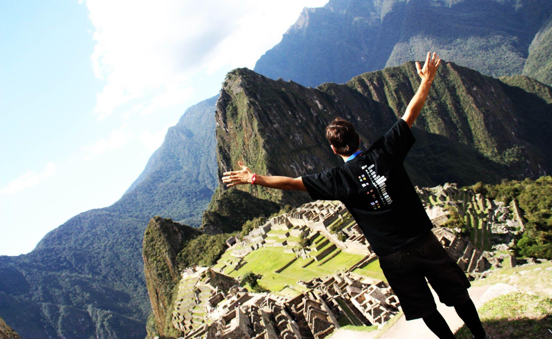 Espectacular vista del Machu Picchu en Perú