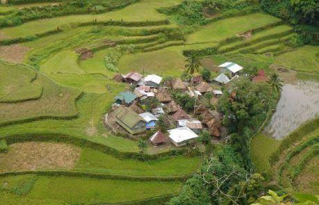 Aldea de Bangaan en Filipinas