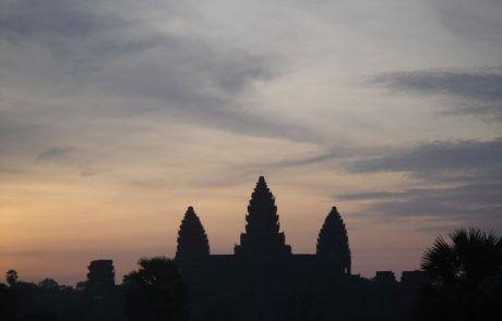Amanecer en el templo Angkor Thom