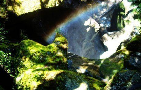 Bonito arcoiris en Nueva Zelanda