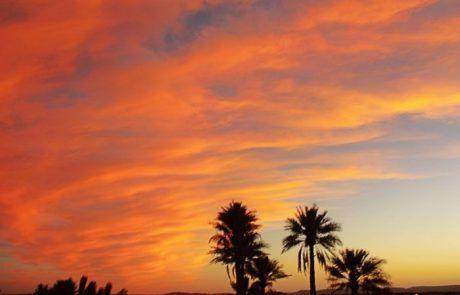 Atardecer en el desierto de Merzouga