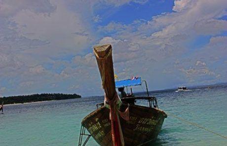 Barca en Koh Phi Phi