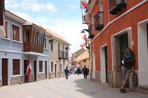 Bonita calle de Potosí