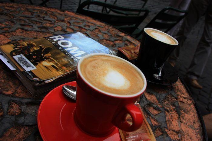 Un buen café en Roma para comenzar el día