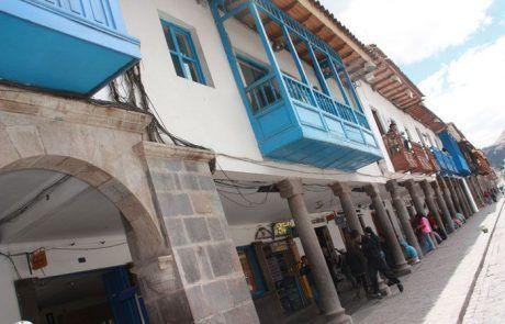 Calles empedradas muy bonitas en Cuzco