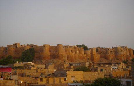 Castillo de Jaisalmer en el Rajastán