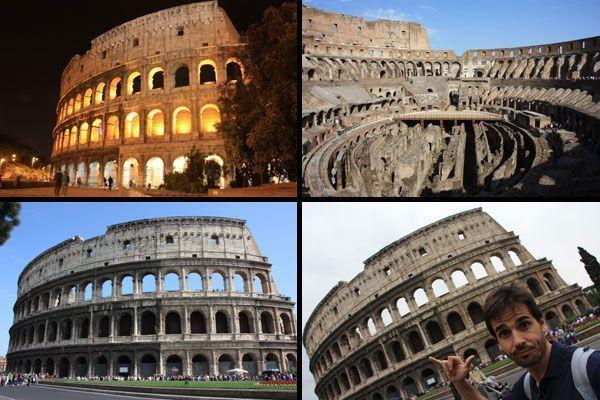 Espectaculares imágenes del coliseo romano