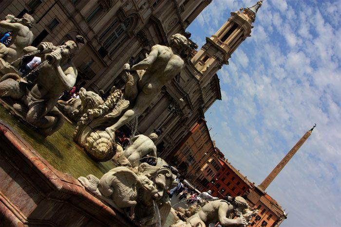 Fuente de la plaza Navona