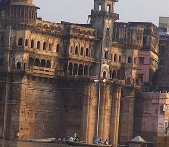 Ghats de Varanasi en La India
