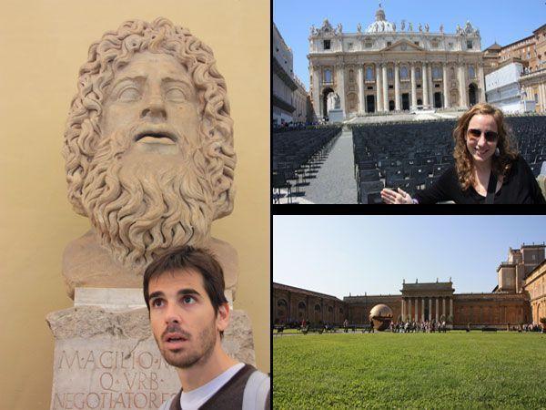 Visitando la Ciudad del Vaticano