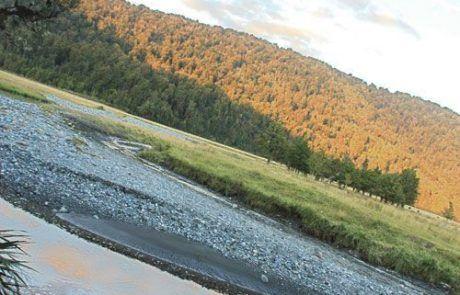 el Lago Mathesonm en Nueva Zelanda