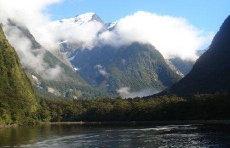 Los fiordos de Milford Sound en Nueva Zelanda