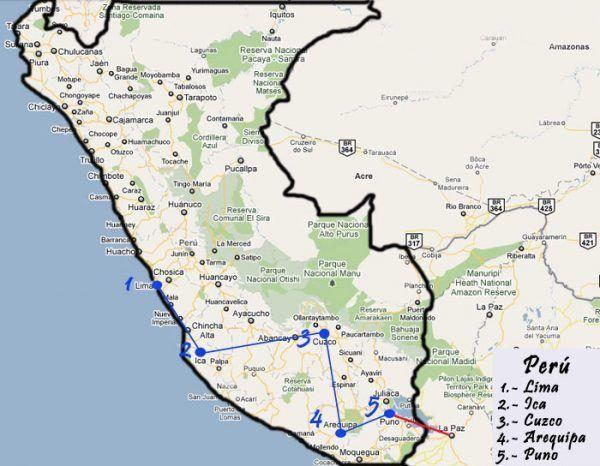 Los mejores lugares de Perú