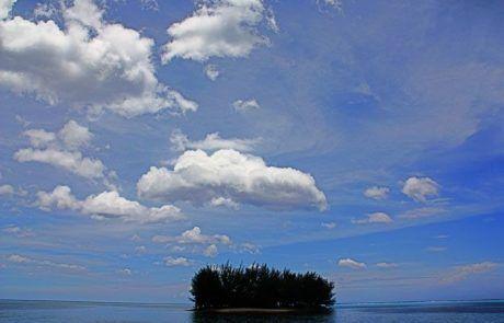 Vista mini isla de Moorea