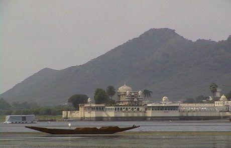 Palacio de Udaipur en el Rajastán