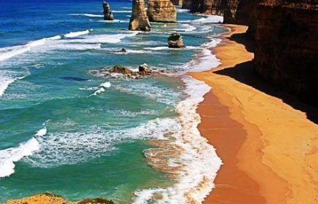 Panorámica de los 12 apóstoles, great ocean road