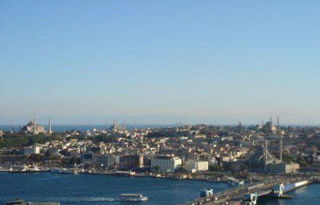 Panorámica de Estambul en Turquía