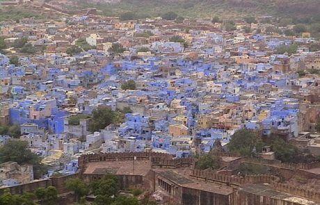 Panorámica de la ciudad azul de Jodhpur