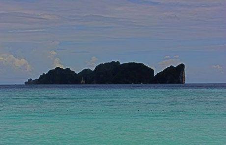 Panorámica de la isla de Koh Phi Phi