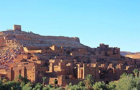 Espectacular panorámica de la kasbah de Ait Benhaddou, Marruecos