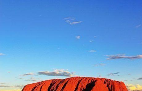 Panorámica Uluru, el Outback