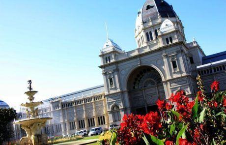 Edificio el parlamento, Melbourne