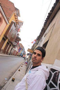Paseando por una calle de Potosí