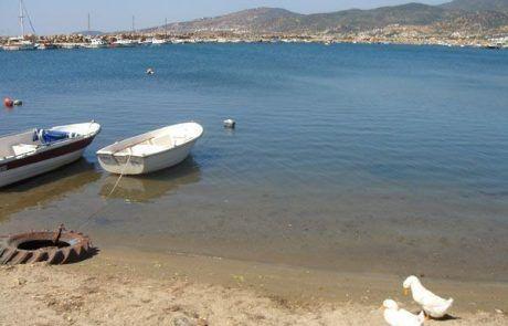 Playa de Çandarlí en Turquía
