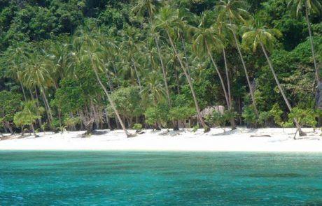 Playa paradisíaca en el Nido