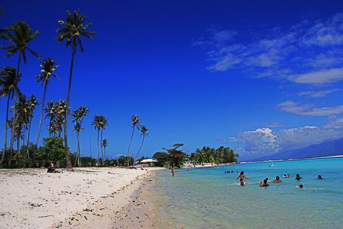 Playa Temae, Moorea