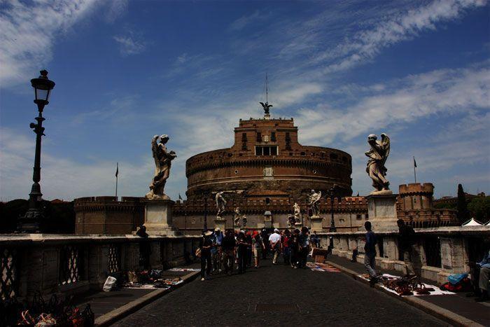 Puente al castillo de Sant Angelo