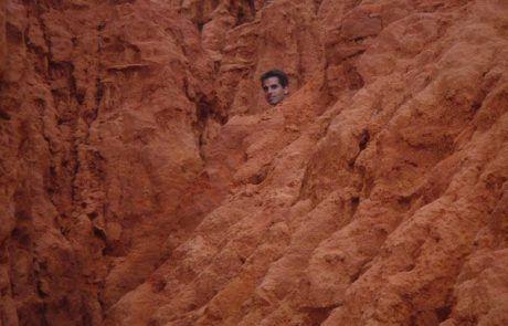 escondido en el Red Sand Canyon en Mui Né