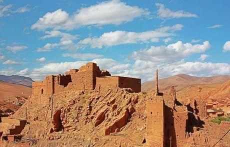 Restos de Kasbah, Marruecos