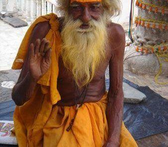 Retrato de un hombre indio