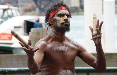 Retrato indígena, Sidney