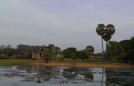 Panorámica de los templos de Angkor Wat