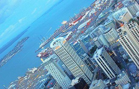 Skyline de Auckland, Nueva Zelanda
