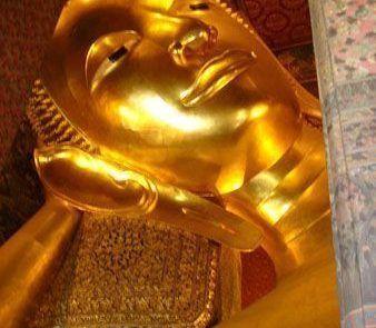 Templo del Sleeping Buda en Bangkok