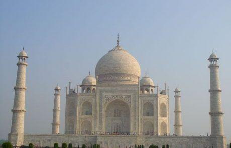 Majestuoso Taj Mahal en Agra