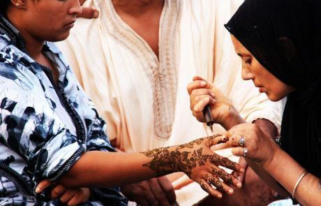 Tatuajes de henna, Marruecos