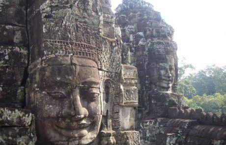 Templo de Bayon en Angkor Wat