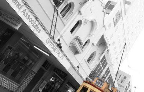 Tranvía en Christchurch, Nueva Zelanda