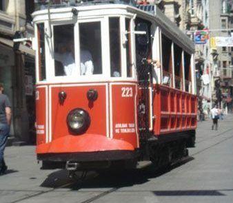 Tranvía de Estambul en Turquía