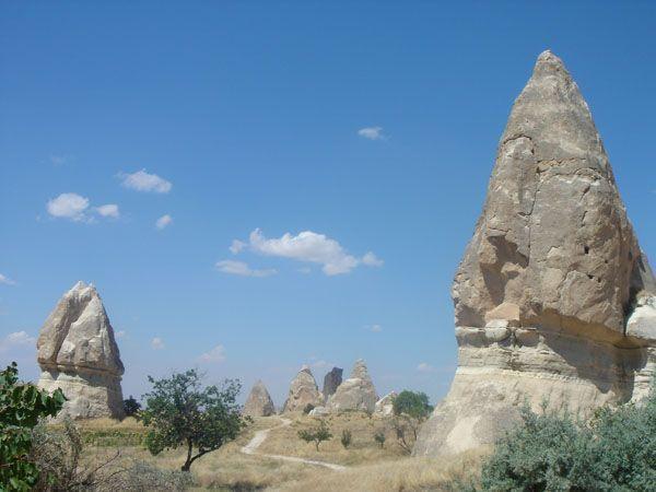 Valle de la rosa - La Capadocia, Turquía
